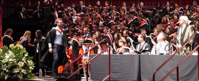 remise de diplome royal college de londres