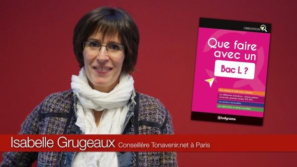 Isabelle Grugeaux conseillère en orientation