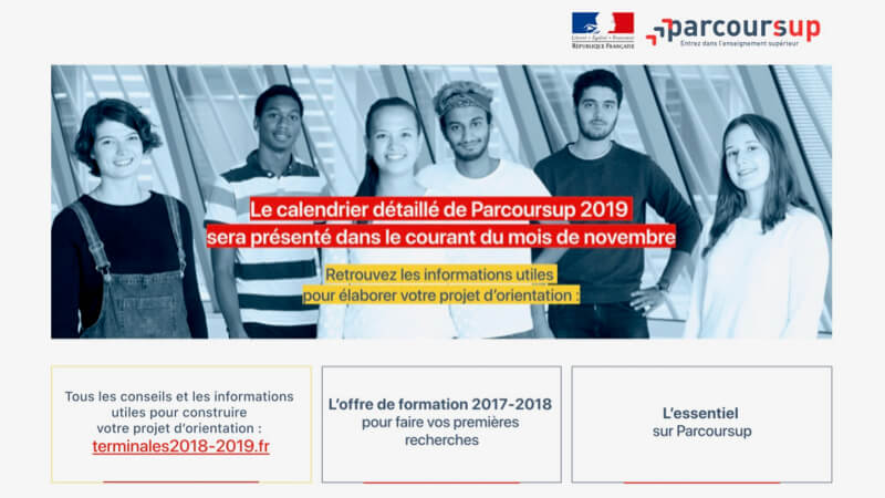 formations post bac sur parcoursup