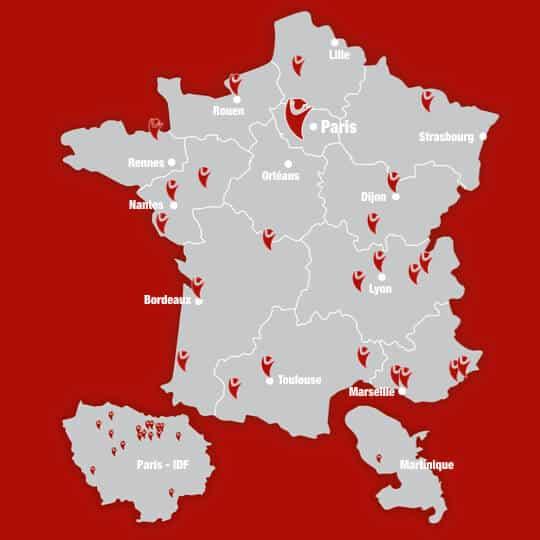 carte du réseau tonavenir